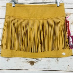 American Girl Yellow Kids Skirt. New With Tags.